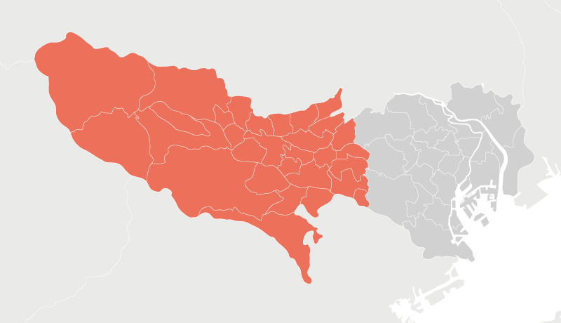 Within the 23 Wards of Tokyo